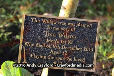 Tom Wilson Memorial Day 111216